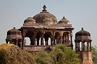historic fortress in Ranthambore National Park, Rajasthan, India