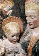 Madonna With Infant detail Antonio Rossellino 1427_1479 Italian Relief State Hermitage Museum, St. Petersburg, Russia