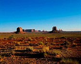 Rock formations on a landscape, Monument Valley, Arizona, USA