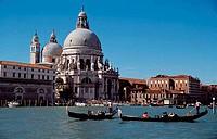 Church at the waterfront, Church Of San Giorgio Maggiore, San Giorgio Maggiore, Venice, Veneto, Italy