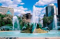 Swann Memorial Fountain Philadelphia Pennsylvania, USA