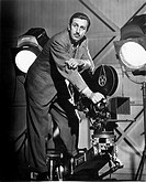 WALT DISNEY (1901-1966)American producer of animated motion-picture cartoons. Photographed in 1944.
