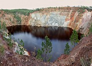 Riotinto mines  Huelva province, Andalusia, Spain