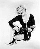 MARILYN MONROE (1926-1962).American cinema actress.
