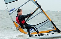Sailing - ISAF Sailing World Cup regatta - Medemblik Holland 26-5-2011 Tim Gourlay AUS RS:X