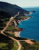 Cabot Trail C.B. Highlands National Park Cape Benton Island Nova Scotia Canada