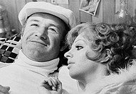 Gene Hackman and Liza Minnelli in Lucky Lady, 1975