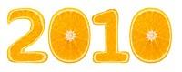 Citrus font. Number 2010