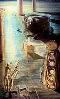 Font by Salvador Dali, 1904_1989, USA, Florida, St. Petersburg, Salvador Dali Museum