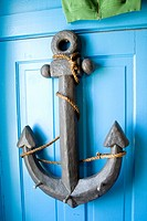 Decorative anchor in The Williams Company Store boutique  Ottertail Minnesota MN USA