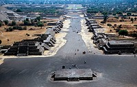 Avenue of the Dead Teotihuacan Mexico