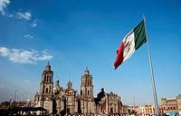 Plaza de la Constitucion Mexico City Mexico