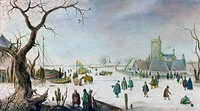 Winter Pleasure Hendrick Avercamp 1585_1634 Dutch
