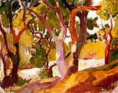 Cork Oak by Henri Charles Manguin, 1874_1949