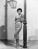 Eartha Kitt b.1927_ , American actress, singer and cabaret star