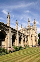 Kings College, Cambridge, England, UK