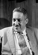 THURGOOD MARSHALL(1908-1993). American jurist. Photographed by Thomas O'Halloran, 17 September 1957.