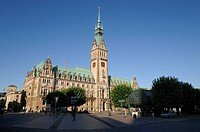 Hamburg, Germany, Town Hall