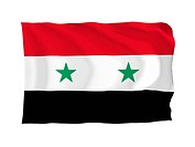 Flagge Syrien
