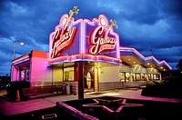 Galaxy Diner, Original site of Bub´s 1950s Diner, Historic Route 66, Flagstaff, Arizona, United States.