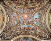 The Triumph of the Cross, by Carlone Carloni Giovanni, Carlone Carloni Giovanni Battista, 17th Century, fresco