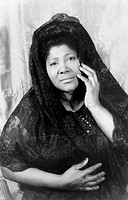 MAHALIA JACKSON (1911-1972).American gospel singer. Photographed by Carl Van Vechten, 1962.