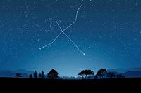 Image of Astrology sign, Cygnus