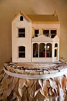 Close_up of model home