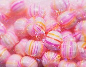 Pink hard candy