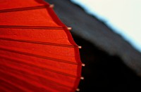 Red Paper Umbrella