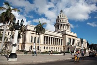 Panoramic View of the Capitol, Havana, Cuba