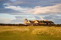 St Andrews Links Clubhouse from the Old Course St Andrews Fife Scotland