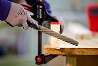 File, woodworking and carpentry tool