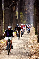 Mountain bike cross_country relay race