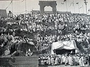 14 July celebration at Tananarive (1894), Madagascar