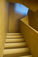 yellow design stairs and steps