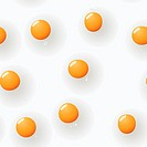 Abstract fried_eggs background. Seamless.