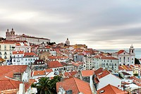 Alfama, Lisbon, Portugal, Europe