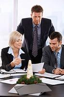Business meeting December