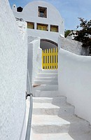 White House in the Village of Pyrgos