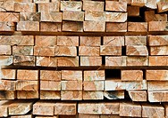 Stacked Lumber