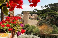 Vila Vella Ramparts, Tossa de Mar, Costa Brava, Catalonia, Spain, Europe