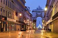 Augusta Street, Lisbon, Portugal, Europe