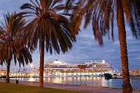 Cruise ship 'Aida' in Las Palmas, Gran Canaria, Canary Islands, Spain