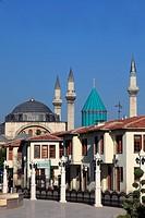 Turkey, Konya, Mevlana Museum, Celaleddin, Rumi, sufi, mystic, tomb,
