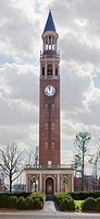 Bell Tower on university campus.