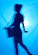 girl´s silhouette