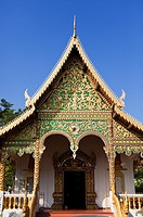 A Buddhist Temple in Chiang Mai, Thailand