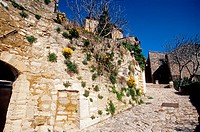 The picturesque perched village of Lacoste, Vaucluse, Luberon, Provence-Alpes-C&#244;te d'Azur, France