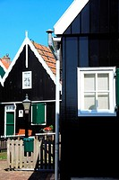 Coastal village of Marken, Holland, Europe